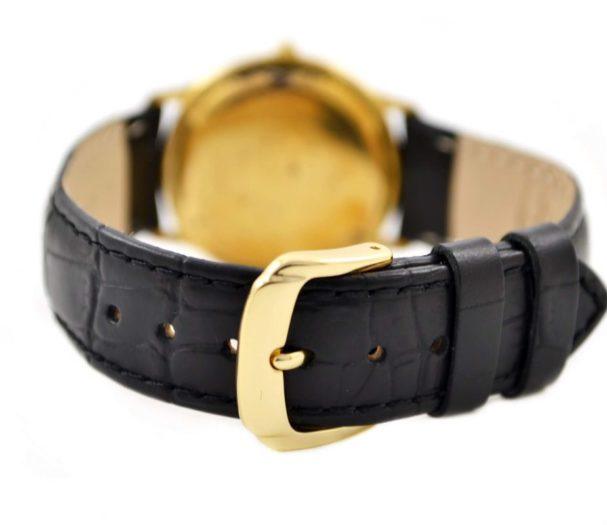 Vintage Raymond Weil Geneve Date 18kt Gold Plated Quartz Midsize Watch