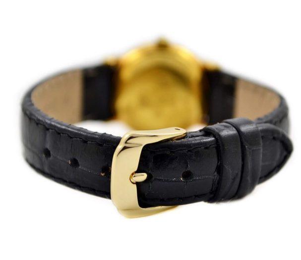 genuine leather black strap