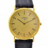 Vintage Longines Gold Plated Classic Quartz Midsize Watch 1990