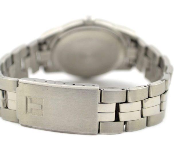 stainless steel tissot watch