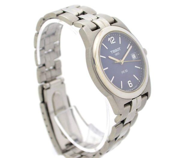 blue dial tissot pr50