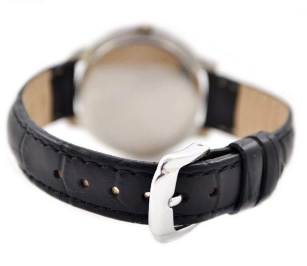 genuine leather strap black new