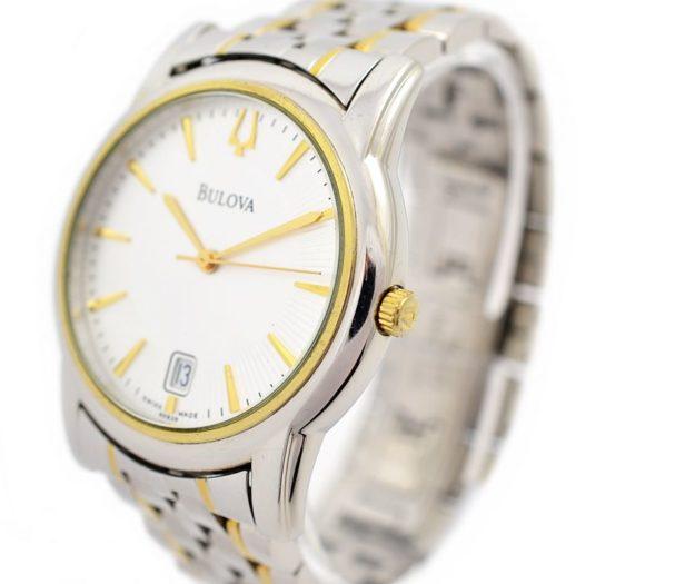 Pre-Owned Bulova Date Quartz Men's Watch time piece