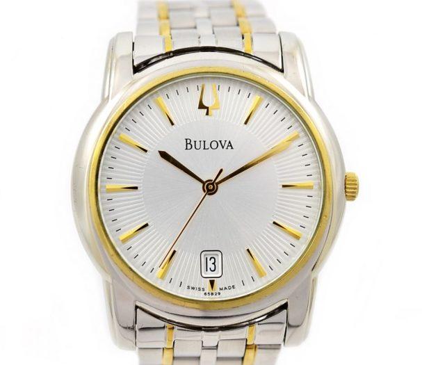 Pre-Owned Bulova Date Quartz Men's Watch gold