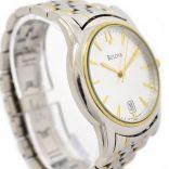 Pre-Owned Bulova Date Quartz Men's Watch swiss