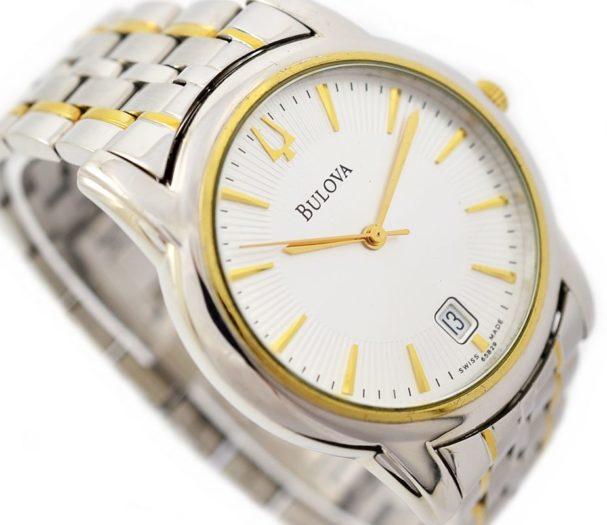 Pre-Owned Bulova Date Quartz Men's Watch 1990