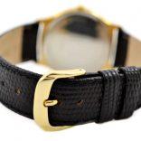 Vintage Tissot Stylist Gold Plated Quartz Midsize Watch leather