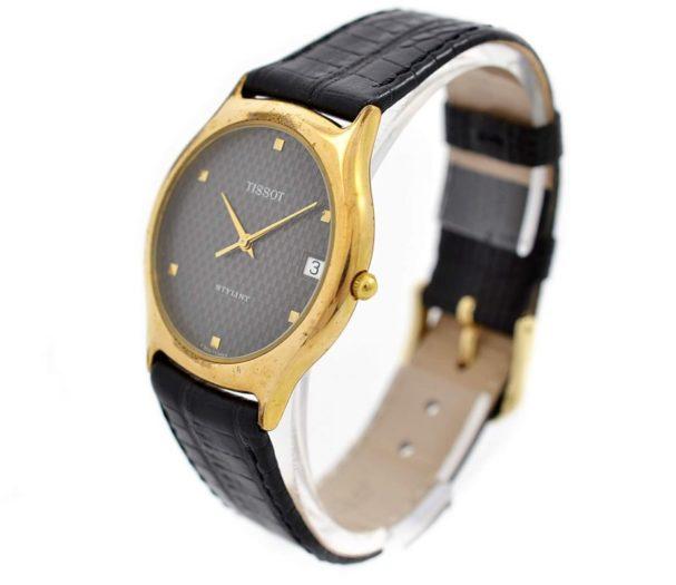Vintage Tissot Stylist Gold Plated Quartz Midsize Watch original