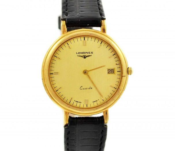 Vintage Longines Classic Quartz Gold Plated Midsize Watch