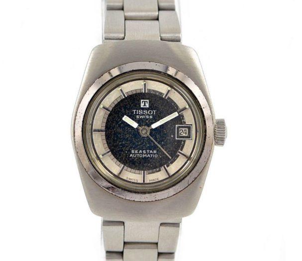 Vintage Tissot 1853 Seastar Ladies Automatic Stainless Steel Watch