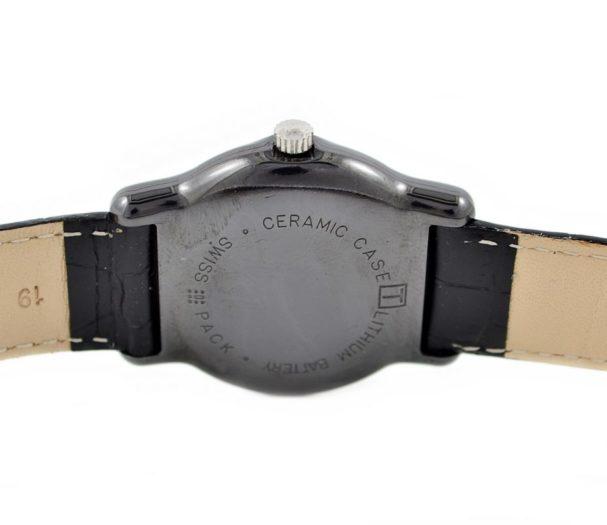 Vintage Tissot Ceramic Case Quartz Midsize Watch