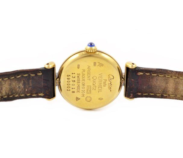 Cartier Rivoli 925 Quartz Ladies Watch