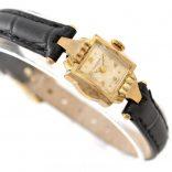 Vintage Bulova L4 Manual Wind Gold Plated Ladies Petite Watch