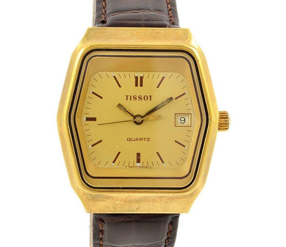 Tissot 1970s Quartz 10M Gold