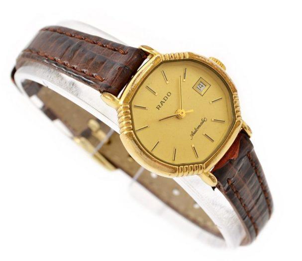 Vintage Rado Automatic 561.7967.2 Gold Plated ladies Petite Watch