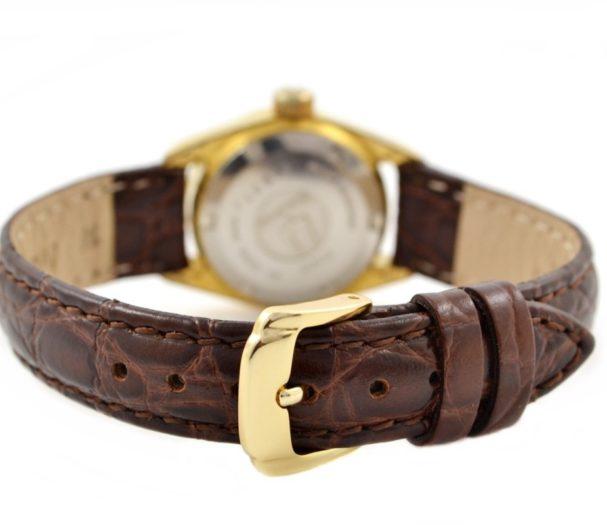 Bulova Super Seville Ladies Automatic Watch genuine leather
