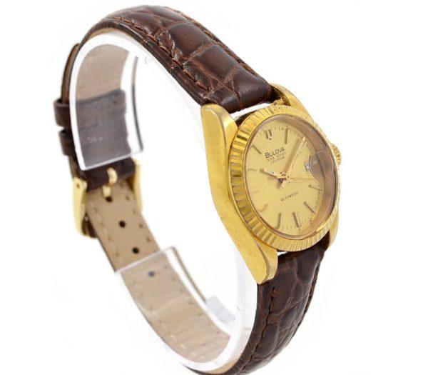Pre-Owned Bulova Super Seville Calendar Automatic Ladies Watch 5774113