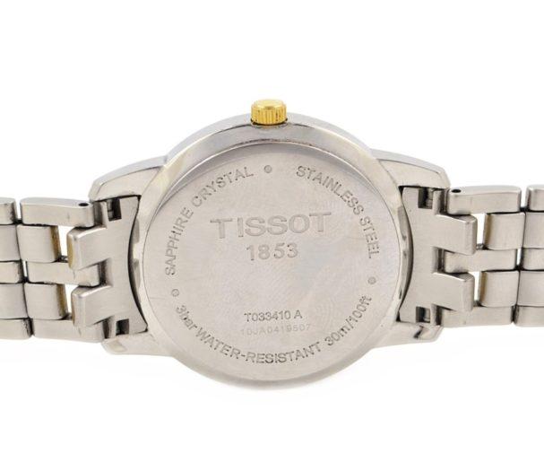 Tissot 1853 Mens Classic Quartz Watch stainless steel