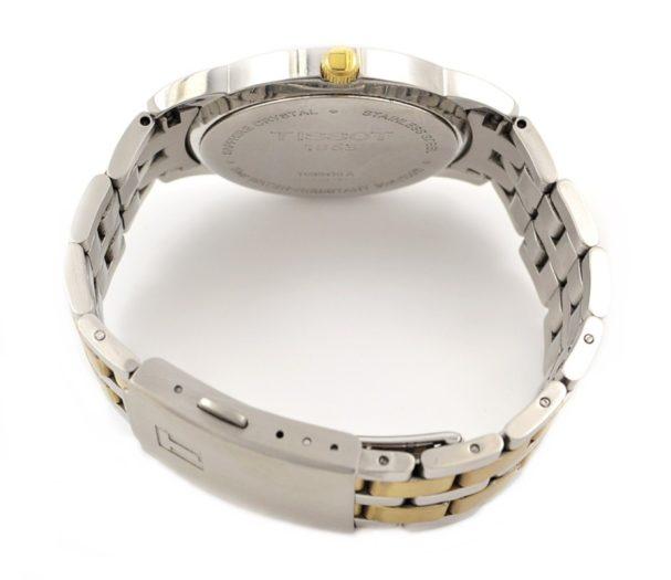 Tissot 1853 Mens Classic Quartz Watch gold crown