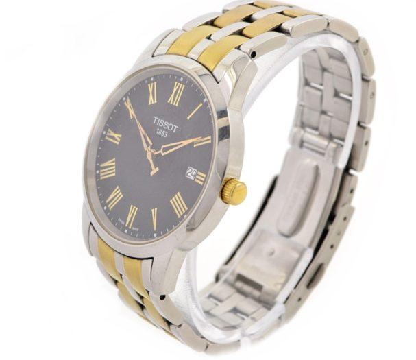 Tissot 1853 Mens Classic Quartz Watch black dial