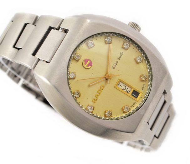 Pre-Owned Rado Golden Gazelle Day/Date Automatic Men's Watch 11973