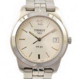 Pre-Owned Tissot PR 50 Date Quartz Men's Watch J376/476 swiss