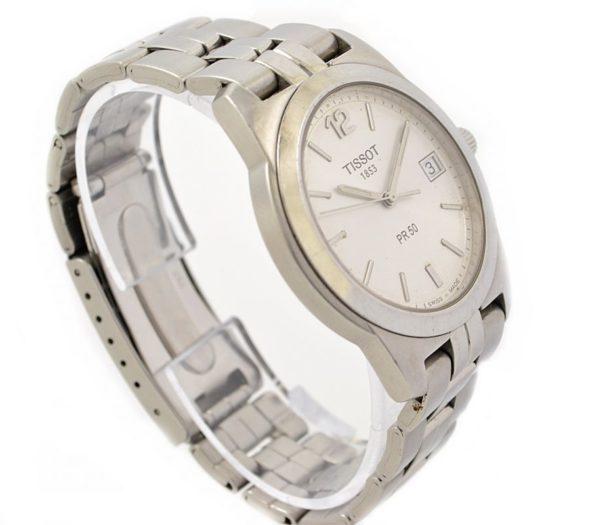 Pre-Owned Tissot PR 50 Date Quartz Men's Watch J376/476 time piece