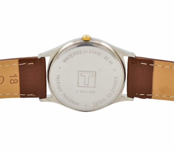 Vintage Tissot Seastar Stainless Steel Quartz Midsize Watch