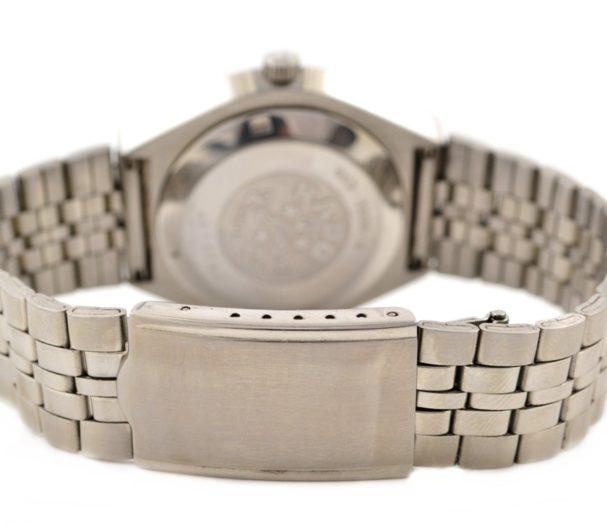 silver mens watch