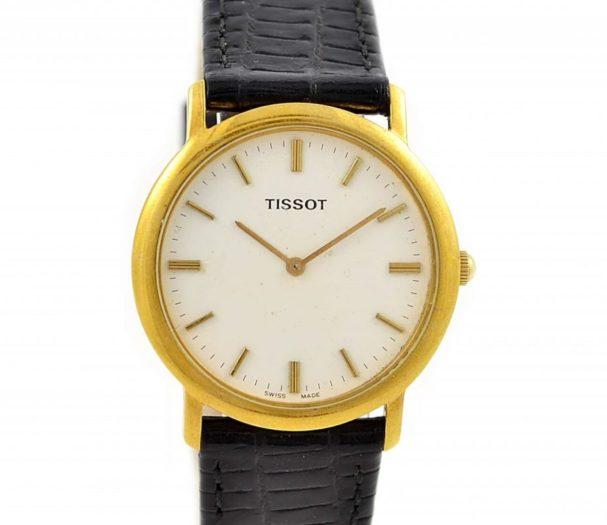Tissot Classic Gold Plated Quartz C275K Midsize Watch