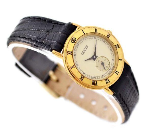 Gucci 3000.2.L Gold Plated Quartz Ladies Petite Watch