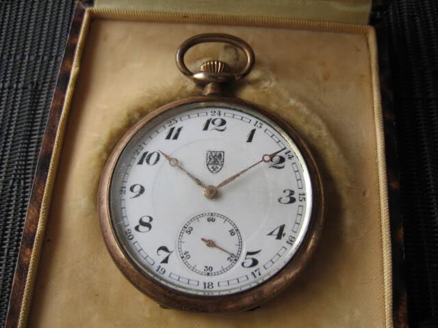 vintage tissot pocket watch