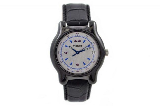 Tissot Ceramic Case Quartz Midsize Watch