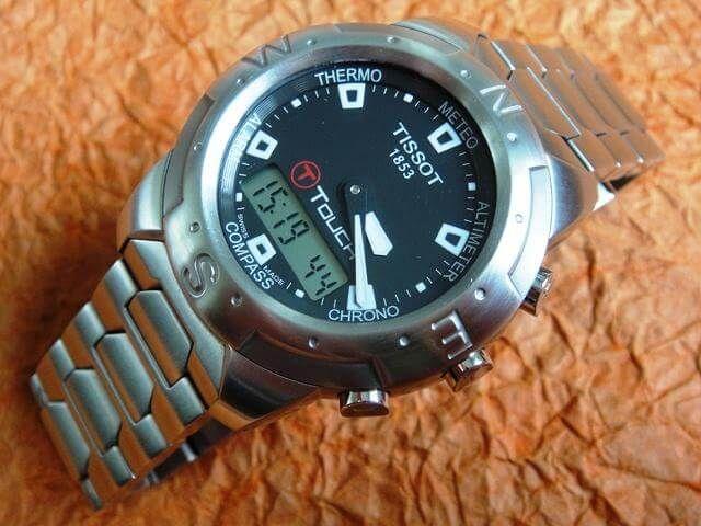 tissot touch watch