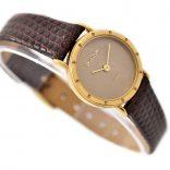 Vintage Bulova P9 Classic Gold Plated Ladies Quartz Petite Watch