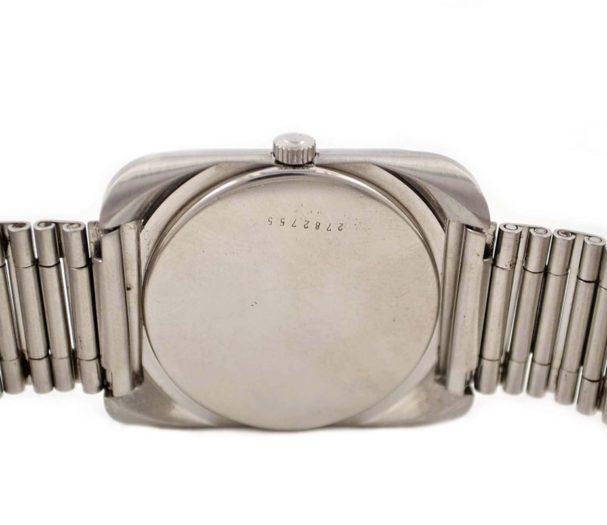stainless steel case back rado