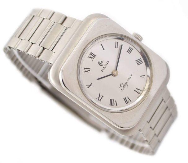 Rado Elegance Stainless Steel Hand wind Midsize Dress Watch