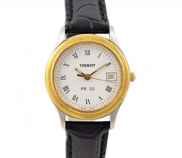 Vintage Tissot 1853 PR50 Stainless Steel Ladies Quartz Watch