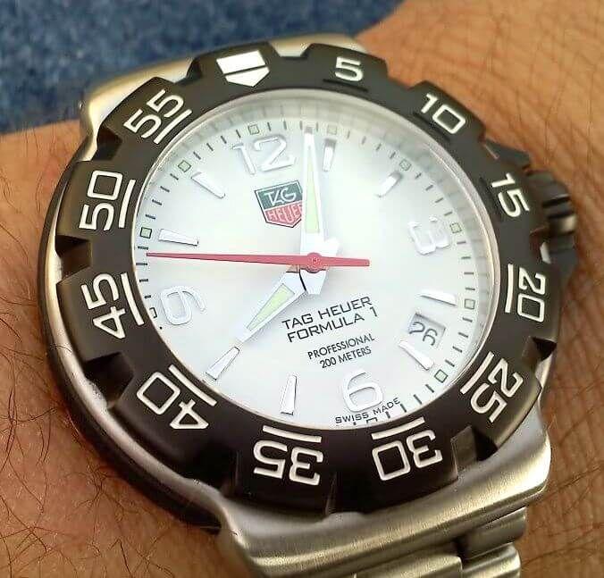 f1 chronograph