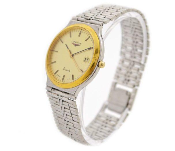 Vintage Longines Midsize Classic Quartz Stainless Steel Watch