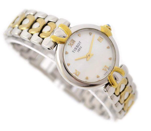 Tissot 1853 18kgp/Stainless Steel Quartz Ladies Watch