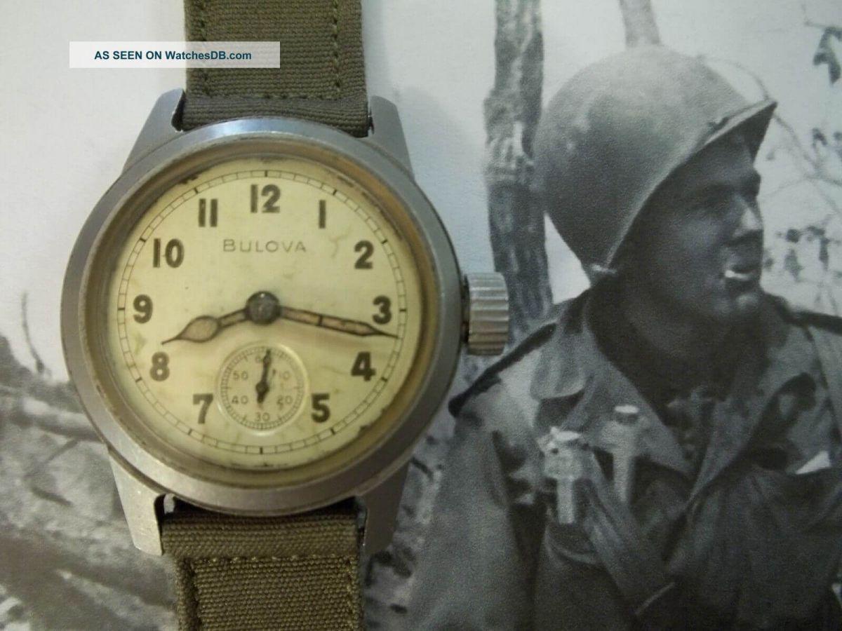 bulova war watch