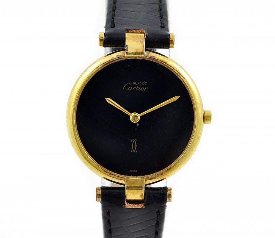 Cartier Vermeil Argent 20M Gold