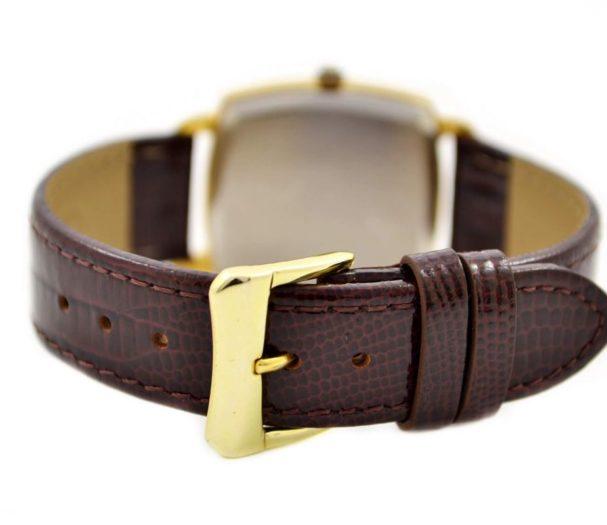 genuine leather brown strap
