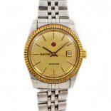 gold dial rado watch