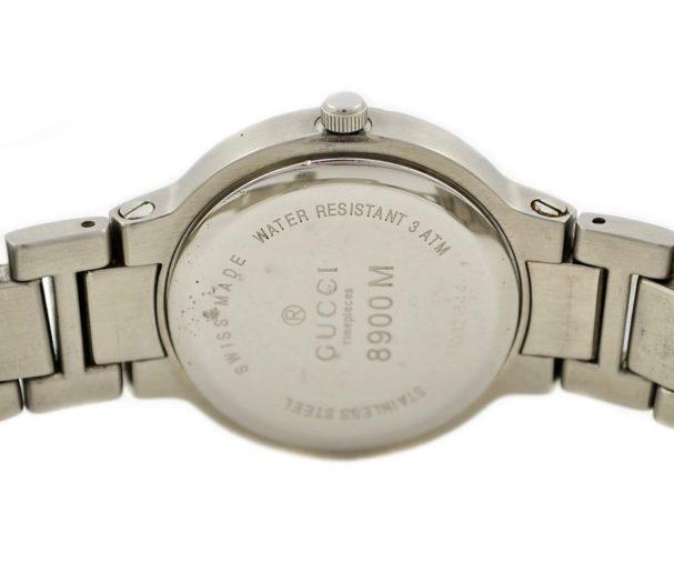 Vintage Gucci 8900M Stainless Steel Quartz Midsize Watch original