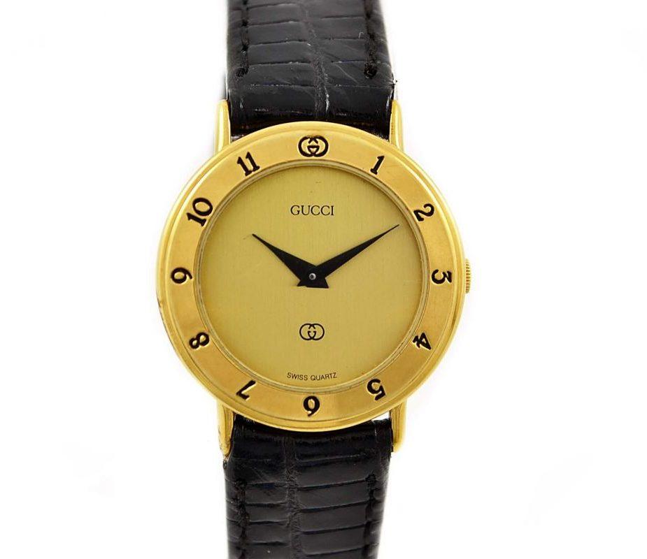 Gucci 3000L Gold Arabic Markers