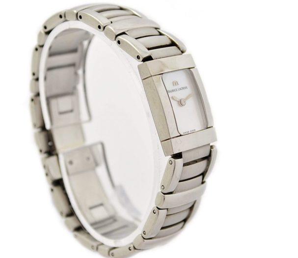 Vintage Maurice Lacroix Ladies Miros 32823 Stainless Steel Quartz Watch original