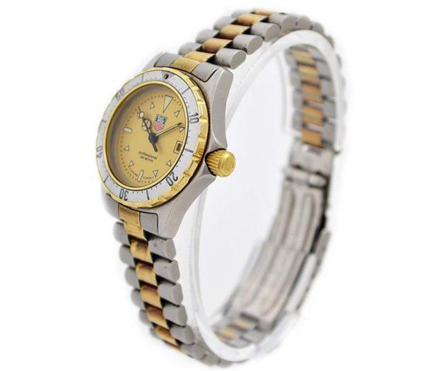 Vintage Tag Heuer 2000 Series 974.008 Quartz Two Tone Ladies Watch classic