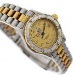 Vintage Tag Heuer 2000 Series 974.008 Quartz Two Tone Ladies Watch swiss